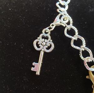 iamkimberlina Jewelry - 🧵Handmade🧵 Key Theme Charm Bracelet
